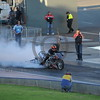 Racing at the Quit Motorplex in Kwinana Western Australia. Monster bike .... monster burnout!
