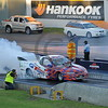 Racing at the Quit Motorplex in Kwinana Western Australia. One serious Holden Ute.
