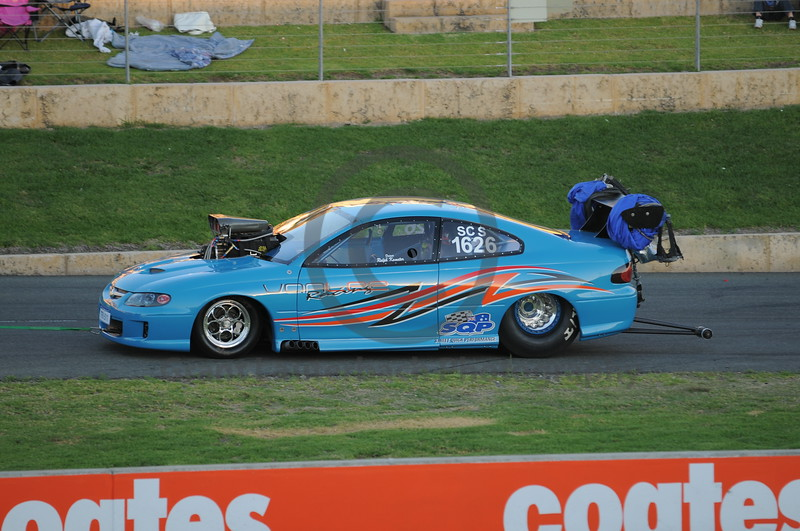 Racing at the Quit Motorplex in Kwinana Western Australia. This is one very slick Monaro.