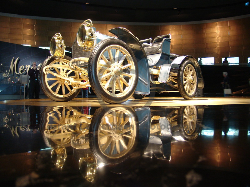 Mercedes museum Germany.
