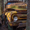 Yellow Ford Pickup