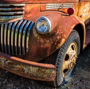 Rusting Firetruck