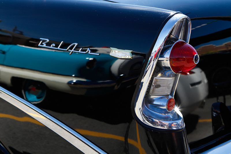 Chevy Bel Air and Nash Metropolitan