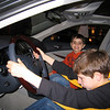 The boys checkout the 2008 Infiniti M45, they have their mother's taste in cars.