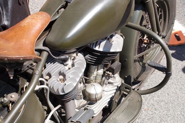 Nice old Harley