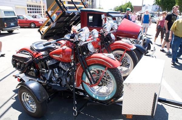 Harleys in their natural habitat?