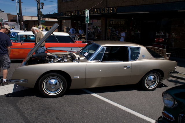 Studebaker Avanti.  These were MANY years ahead of their time!