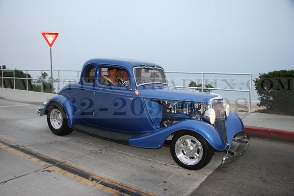 Coast Line Classic Car Show - Corona Del Mar, CA