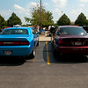 Hmmmm.....Red vs. Blue.