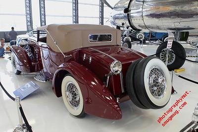 """1929 Duesenberg Model J Disappearing Top Torpedo Convertible Coupe"""