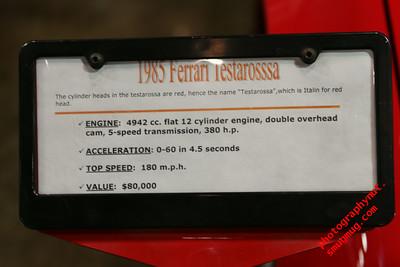 """""""1985 Ferrari Testarossa"""""""