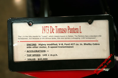"""1973 De Tomaso Pantera L"""