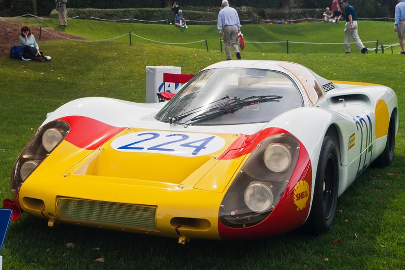 1968 Porsche 907LH-025 Elford winner 1968 Targa Florio