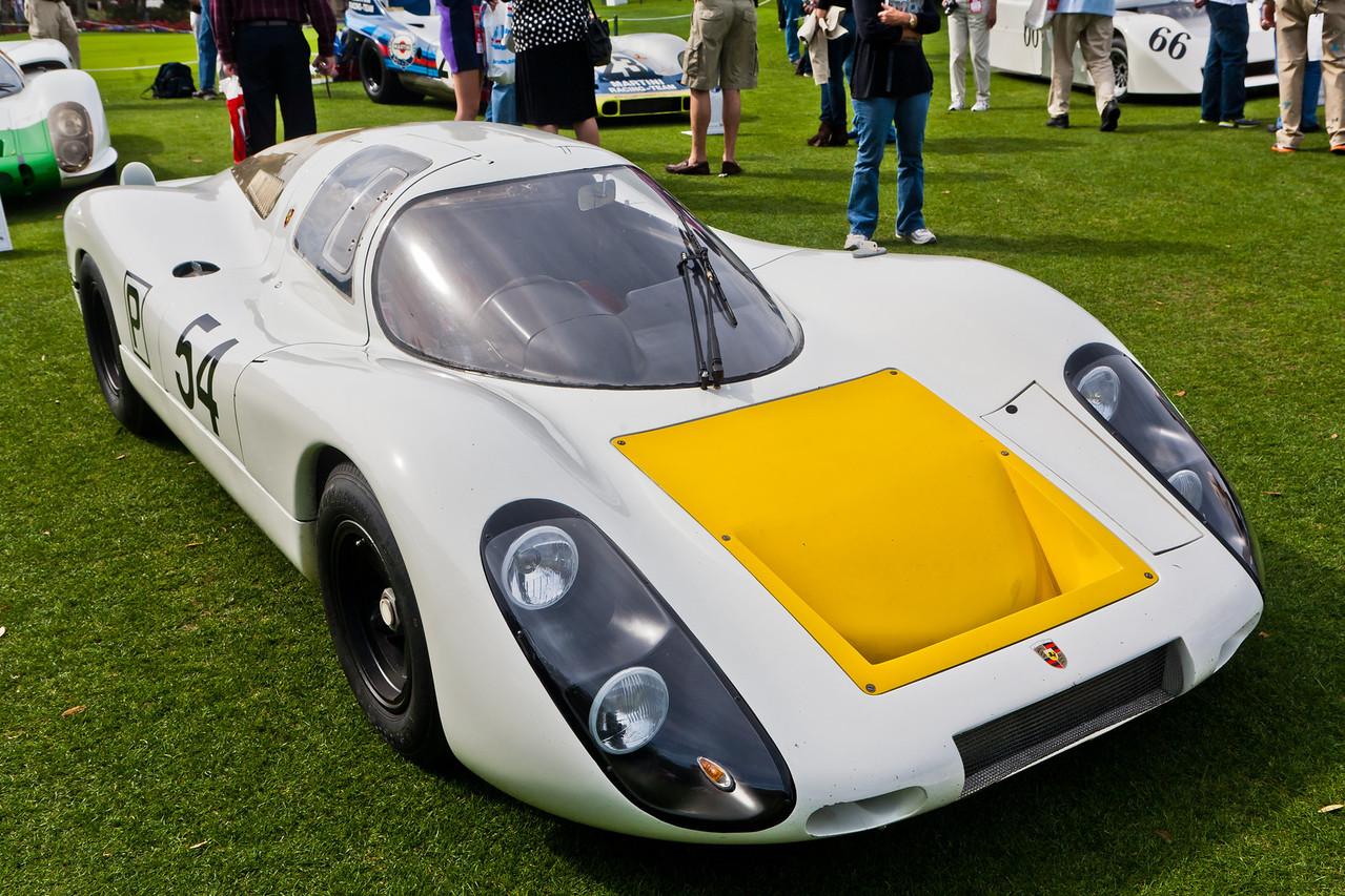 1968 Porsche 907LH-005 Elford winner Daytona 24hr 1968, second Monza 1968, 5 time Le Mans entry