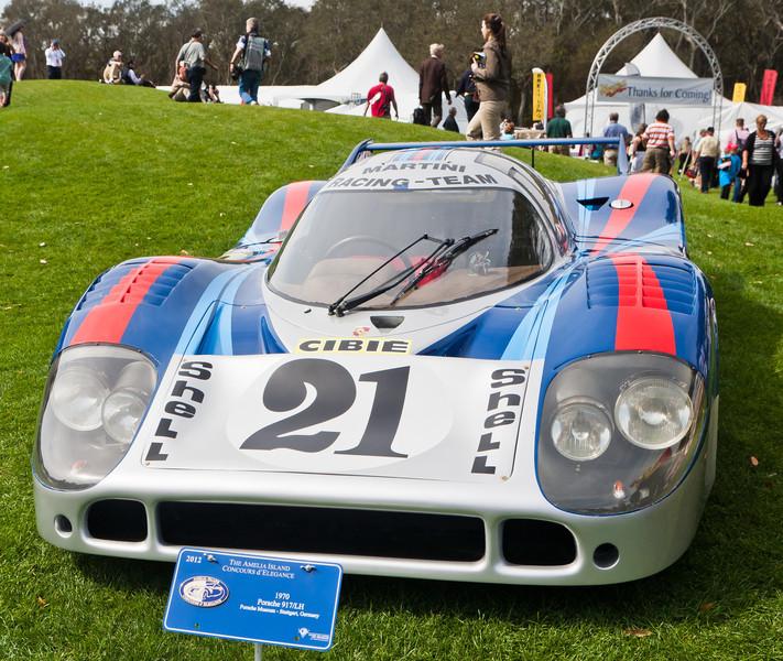 1971 Porsche 917/LH Elford/Larrousse Le Mans entry