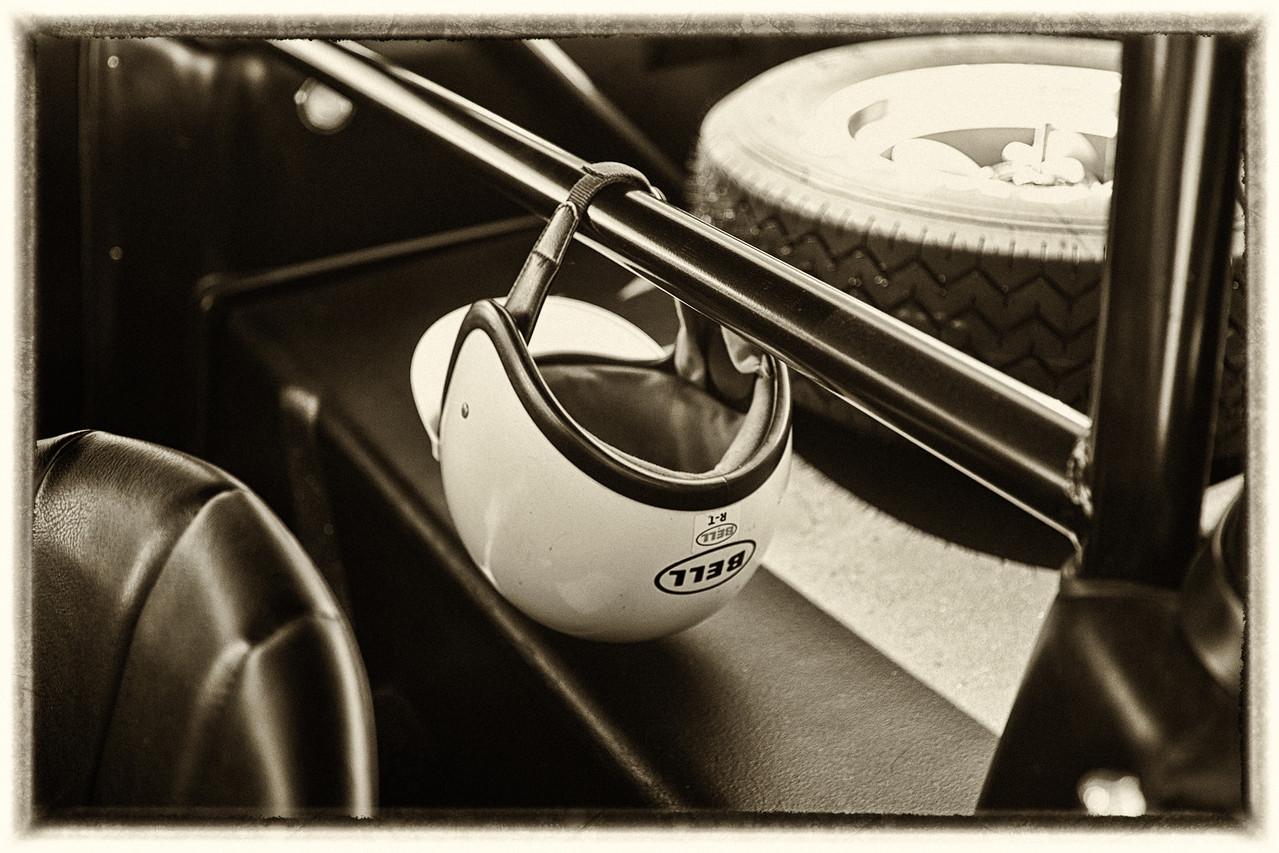 Shelby GT350 driver's helmet