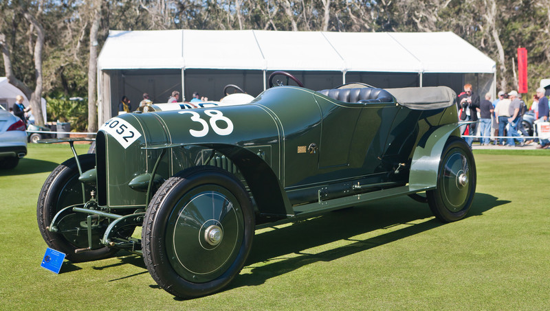 1910 Benz Prinz Heinrich Racing Touring Car -- recent MB Classic restoration