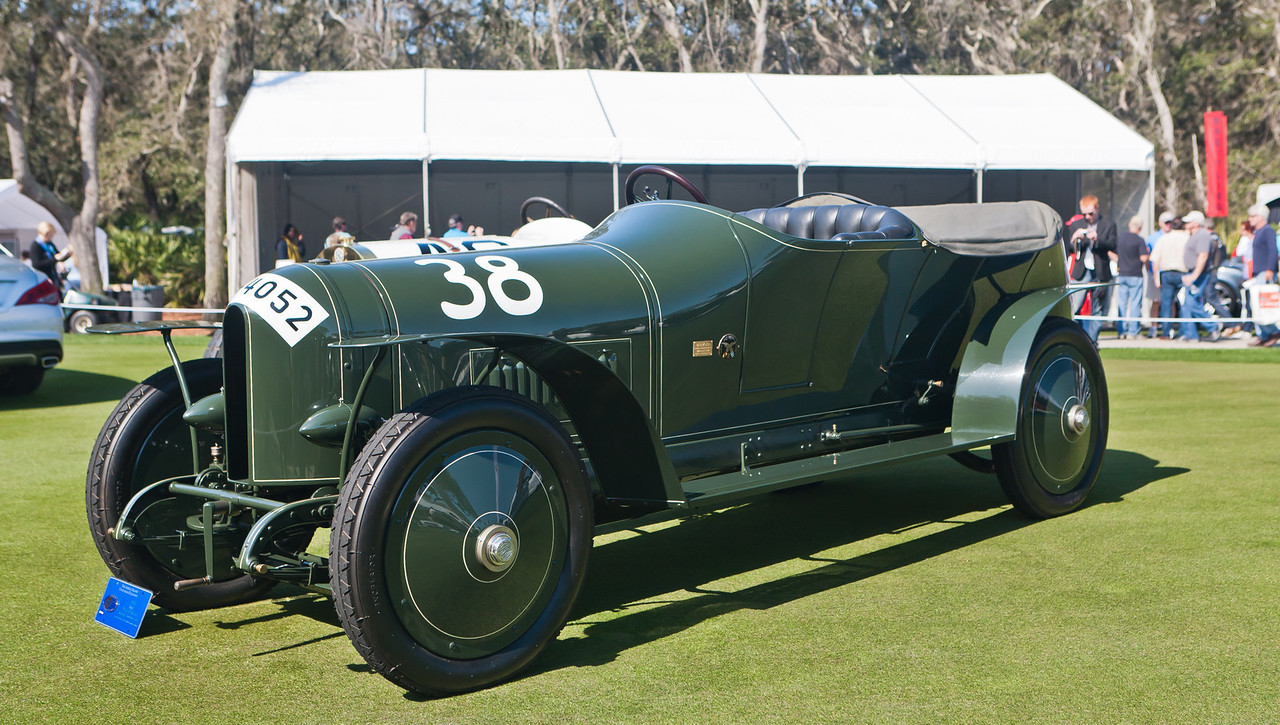 1910 Benz Prinz Heinrich Racing Touring Car -- recent MB Classic restoration