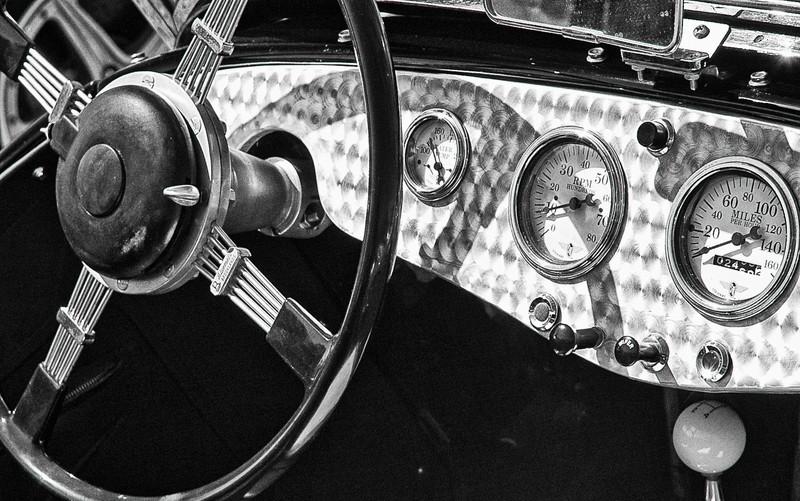 1951 Allard Model K2 Roadster dash