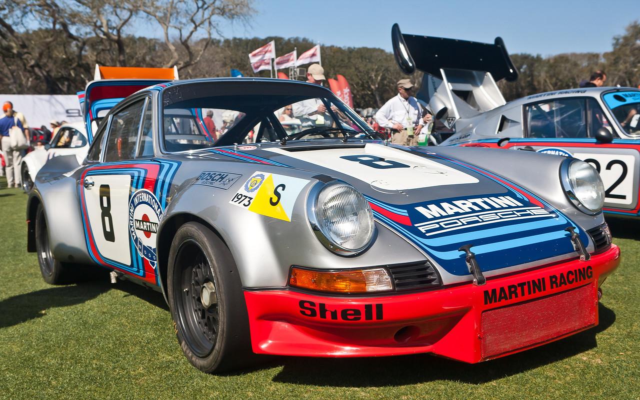 Martini Racing 1973 Porsche RSR 2.8 R6. Won 1973 Targa Florio
