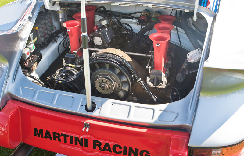 Martini Racing 1973 Porsche RSR 2.8 flat 6 generated 300 HP
