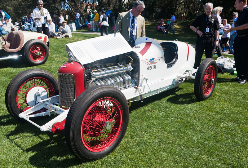 First Miller 122 built in 1922 for Tommy Milton who went on to win 1923 Indy 500 from the pole.