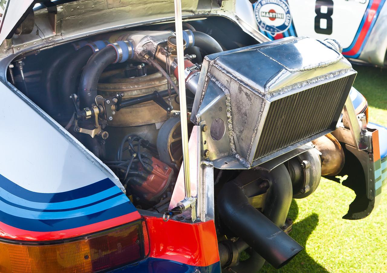1974 Porsche 911 RSR 2.14 KKK Turbo with massive intercooler produced > 500 HP