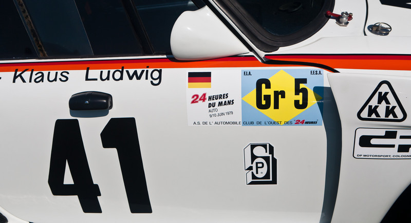1979 Porsche 935K-3  twin turbo overall winner of 1979 Le Mans with Whittington/Ludwig -- Bruce Meyer Collection