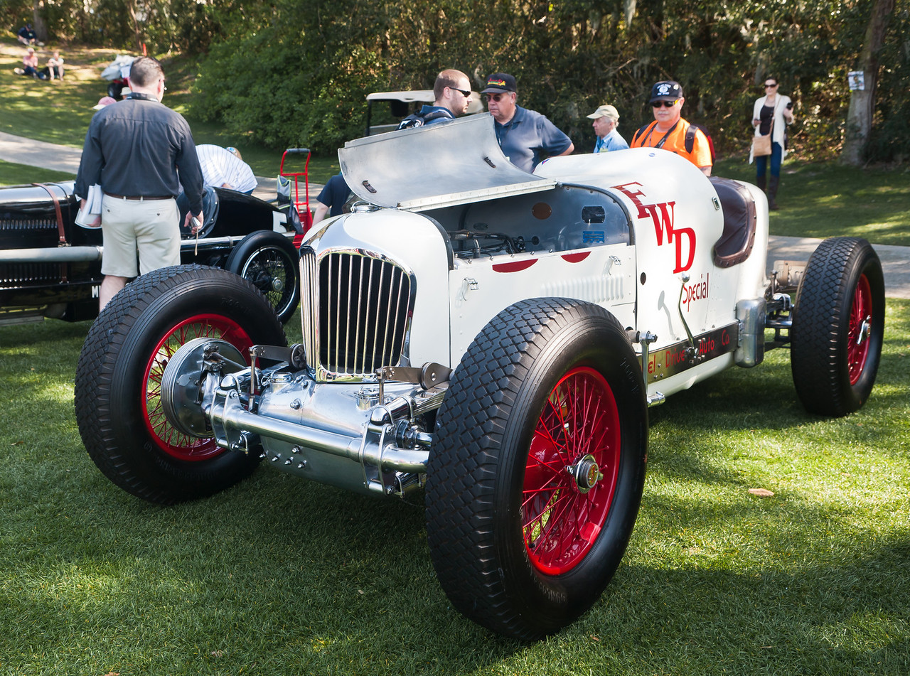 1932 Miller 4 wheel drive 4th place finisher of 1936 Indy 500