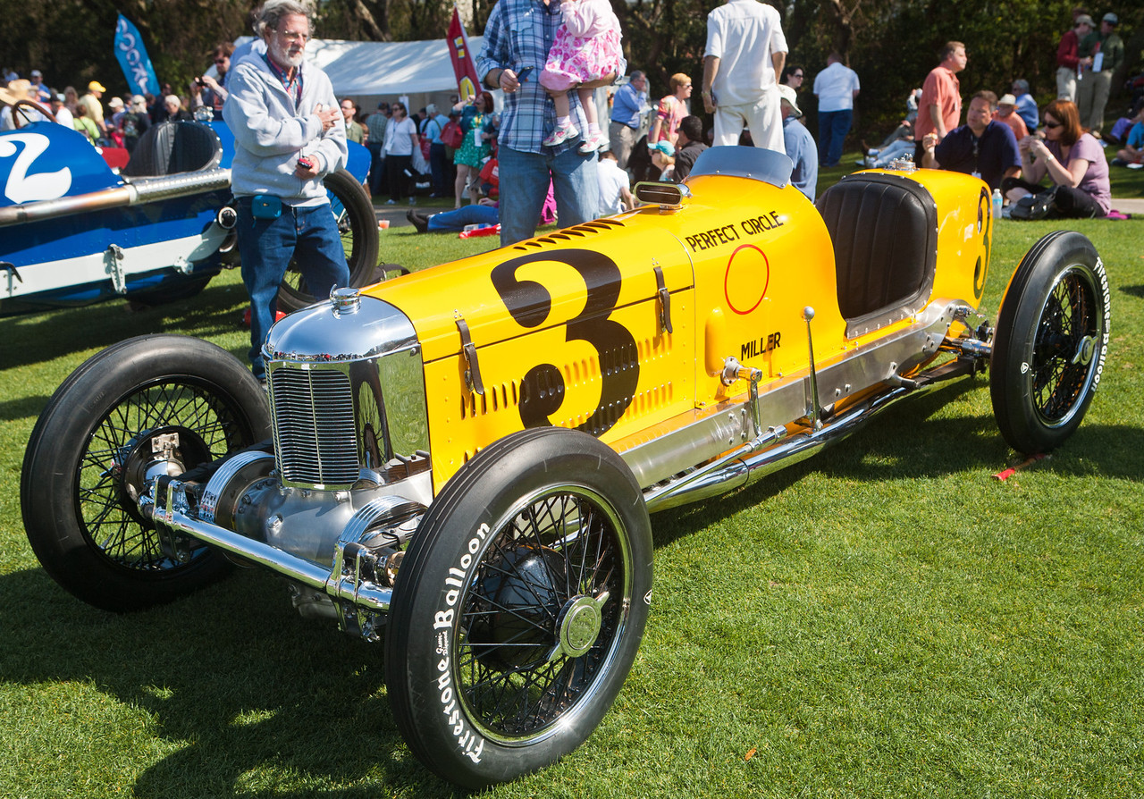 1927 Miller Model 91 Supercharged FWD AAA National Champion Car