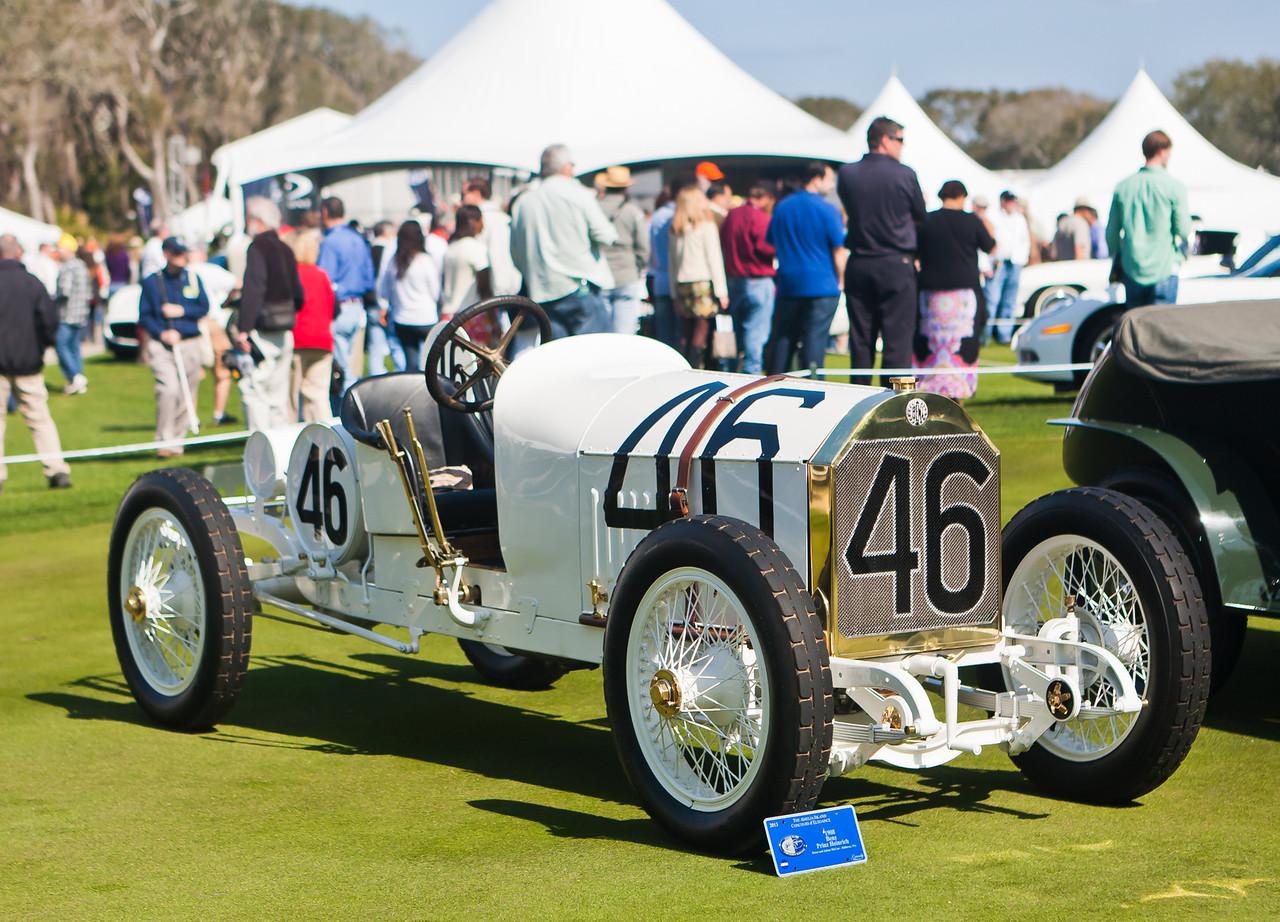 1908 100PS Rennwagen Benz Prinz Heinrich built by MB for the 1911 Vanderbilt Cup Races