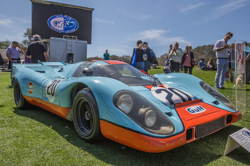 1969 Porsche 917/004 featured in Steve McQueens's Le Mans movie