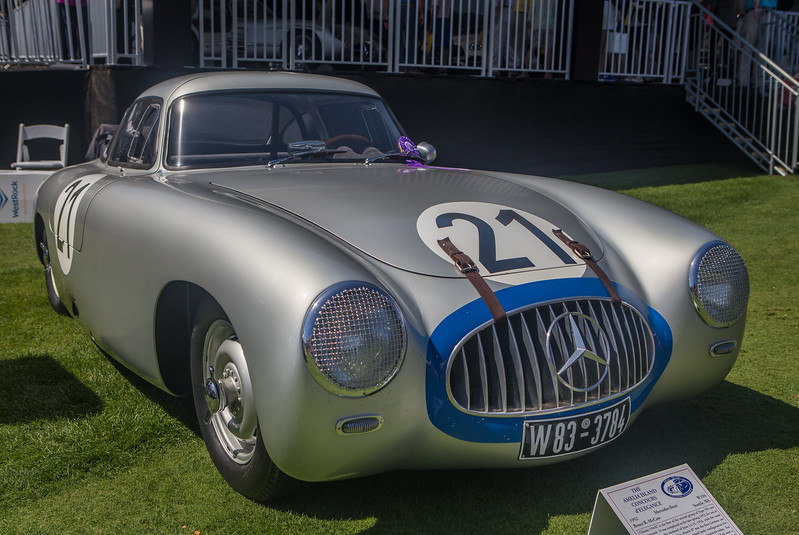 1952 Mercedes W194//07 won Le Mans in 1952