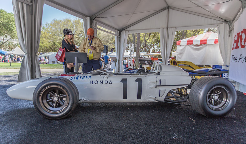 Honda RA272 Formula One car driven by Richie Ginther 1965