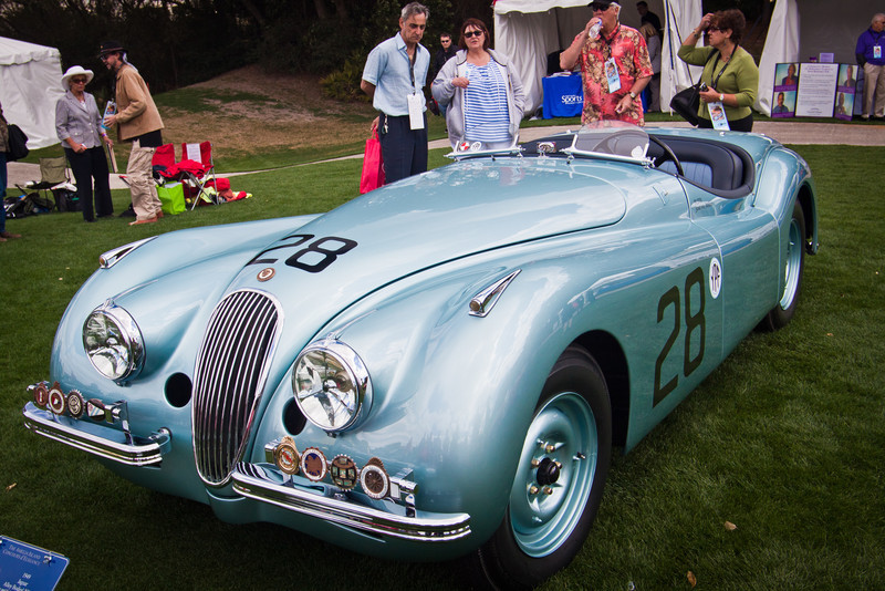 1949 Jaguar XK 120 Alloy Body