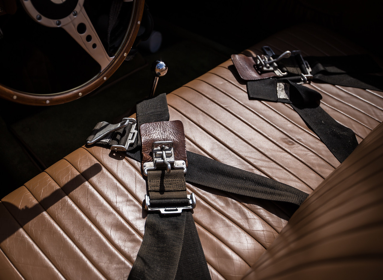 Seat belts, 1953 Allard Palm Beach 21C Roadster