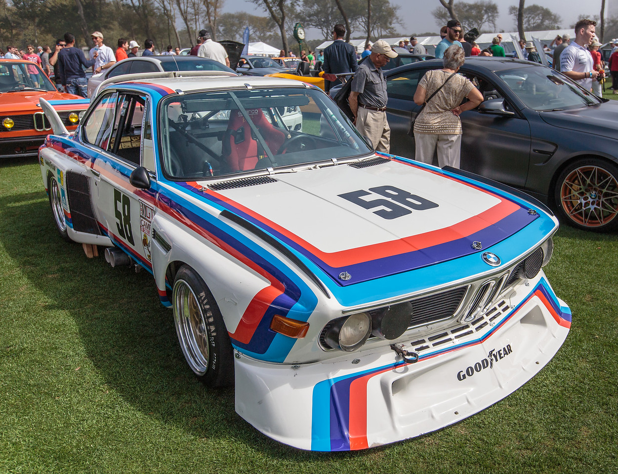 1974 BMW  3.5 CSL driven by Stuck and Posey