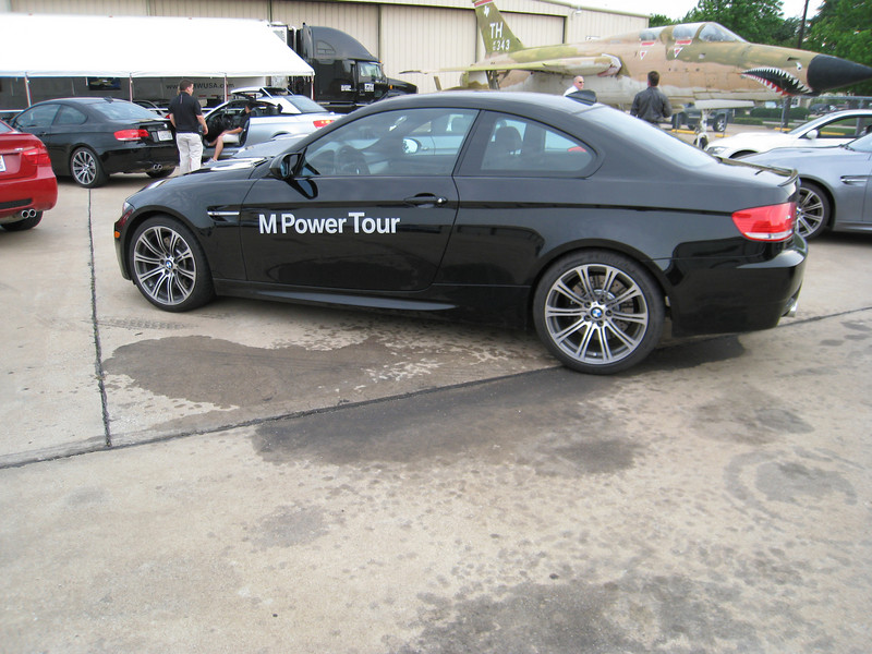 The black M3 coupe that I drove.