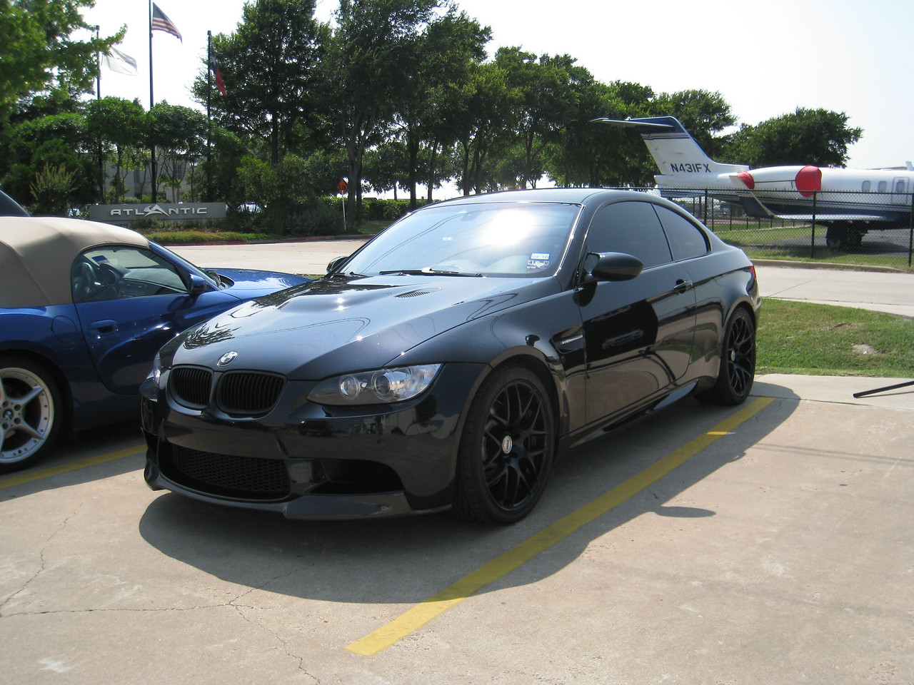 Random attendee's blacked out E92 M3. Menacing.