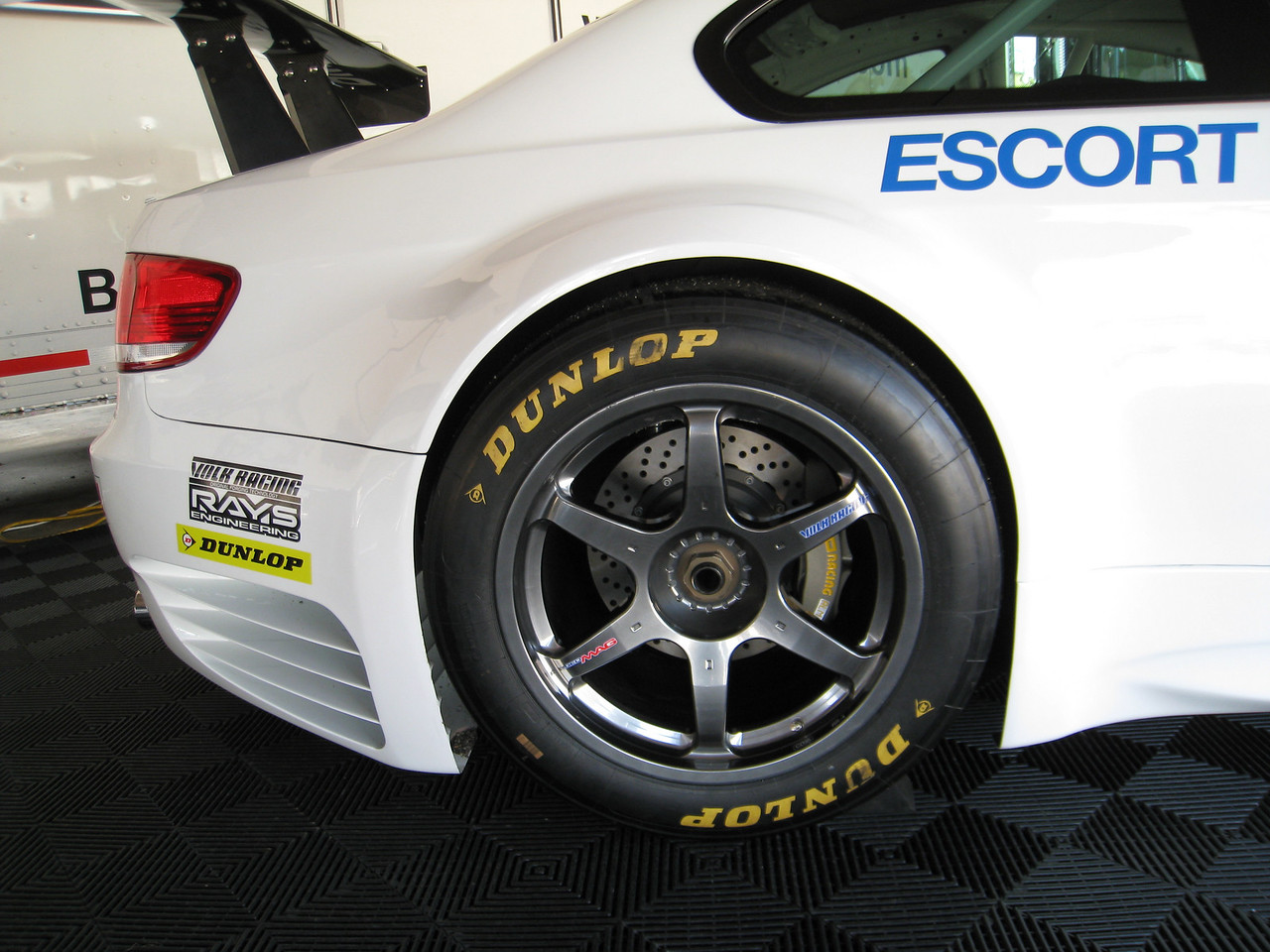 E92 M3 Race car rear wheel