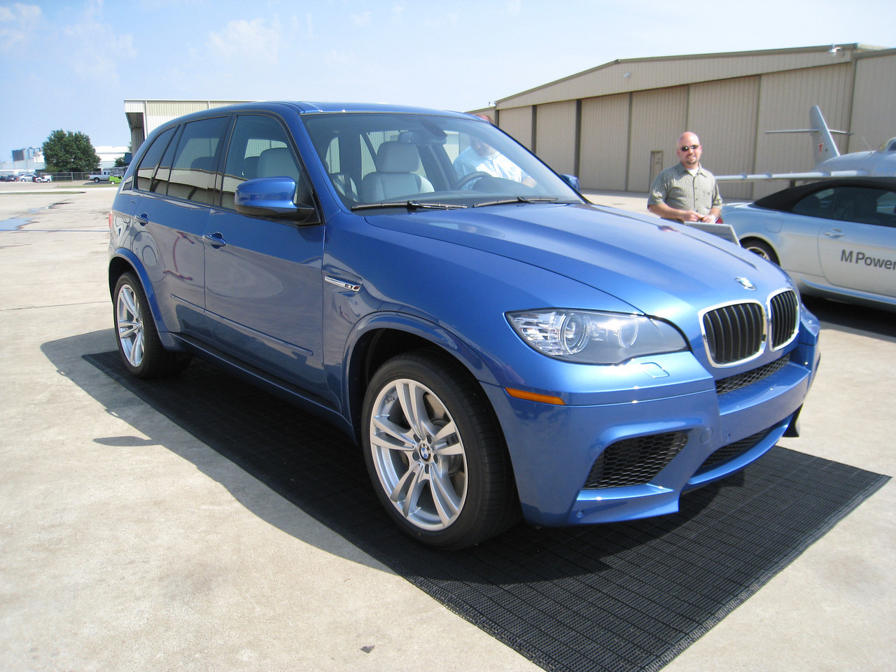 BMW X5 M - Estoril Blue