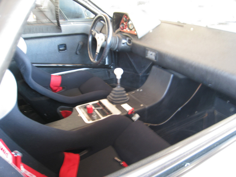 BMW M1 Racer, which raced the 24 hours of Daytona in 1981 - interior