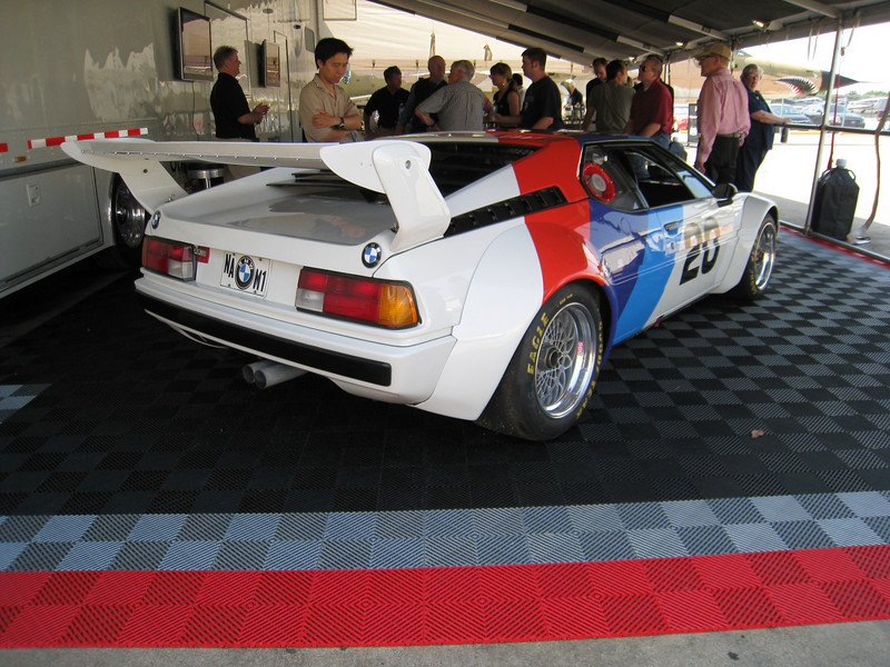 BMW M1 Racer, which raced the 24 hours of Daytona in 1981.