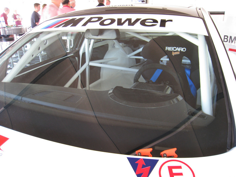 E92 M3 Race car interior