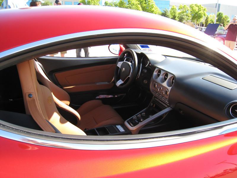 Alfa 8c Competizione interior