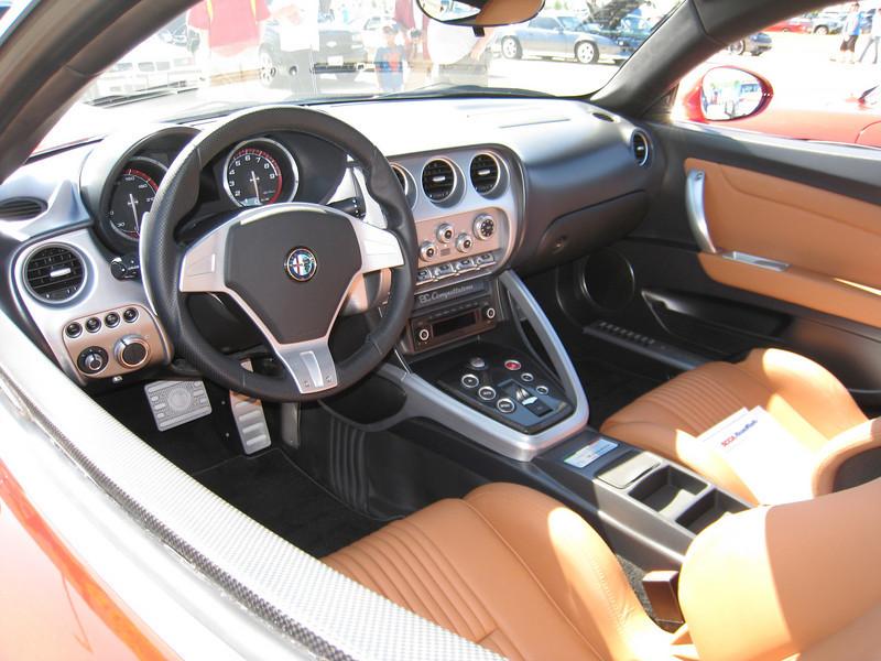 Alfa 8c Competizion interior