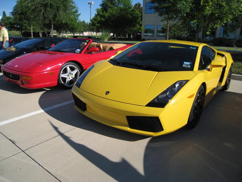 Various Ferraris/Lamborghini Gallardo