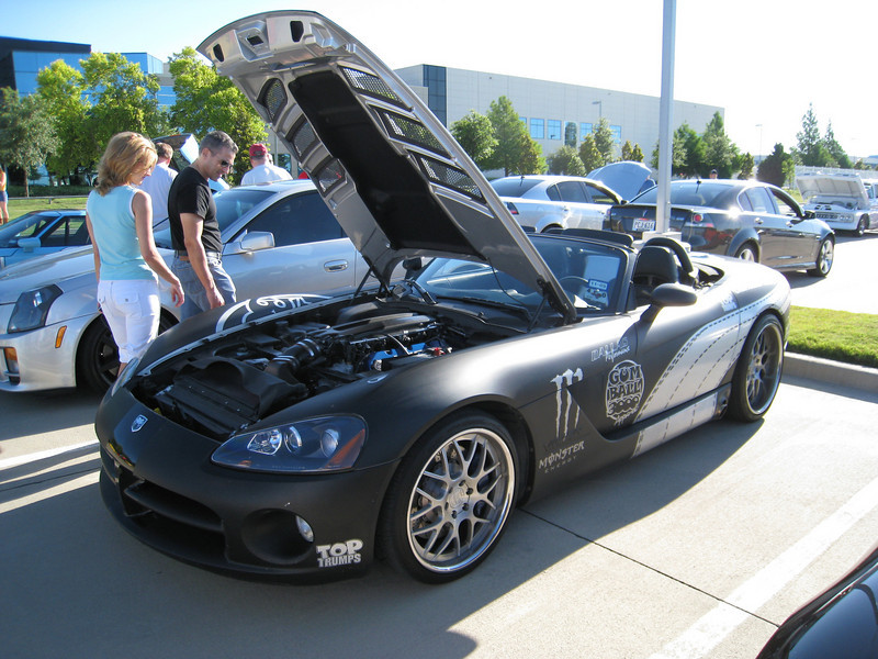 Dodge Viper from Gumball 3000 rally