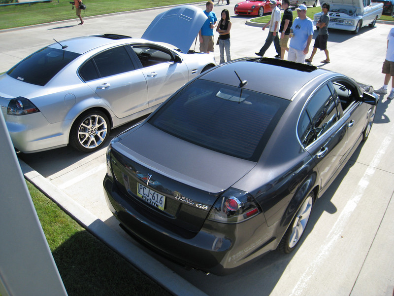 Jason's G8 GXP and my G8 GT
