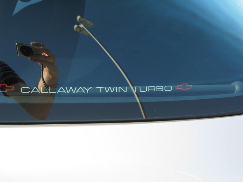 Callaway Corvette C4 Twin Turbo